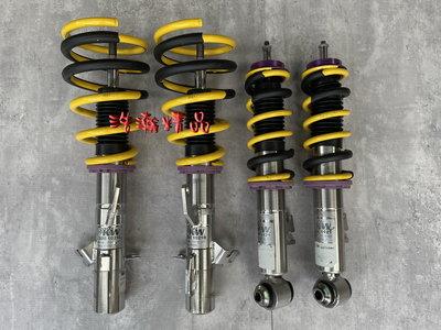 浩瀚精品 KW V3 MINI COOPER R50 R53 R55 R56 用 高低軟硬可調避震器 極新品 保固半年