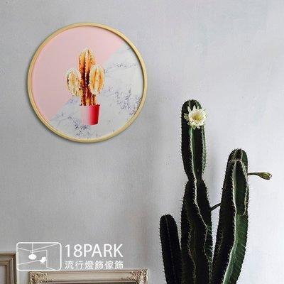 【18Park 】植栽設計 Golden Cactus [ 畫說-金色仙人掌-圓40cm ]