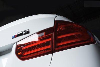 【樂駒】BMW F80 M3 Competition Package Rear Trunk Badge 高光黑 字標
