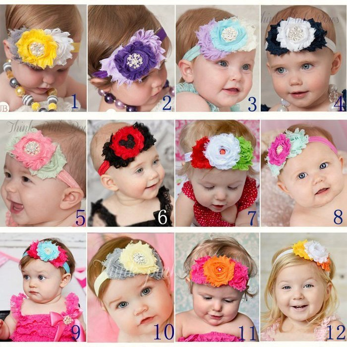 HM嬰幼館【Q208】 2015新款歐美兒童髮帶新生兒嬰兒寶寶髮帶女童女寶公主滿月百日週歲拍照攝影造型搭配/實品拍攝多色