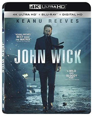 毛毛小舖--現貨 藍光BD 捍衛任務 John Wick 4K UHD+BD雙碟限定版 基努李維