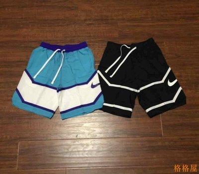 【格格屋】 NIKE  耐吉男梭織復古拼色籃球訓練運動速干短褲 AJ3899