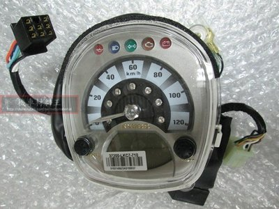 《光陽原廠》MANY 110 水鑽 速度儀錶組 儀表板 儀錶 速度表組 37200-LKC7-710 液晶錶 里程錶