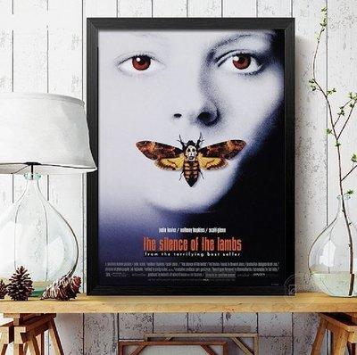 ART。DECO  電影海報個性裝飾畫版畫有框畫酒吧掛畫牆畫沉默的羔羊全面啟動海上鋼琴師舞夜巴黎即刻救援電影掛畫(多款可