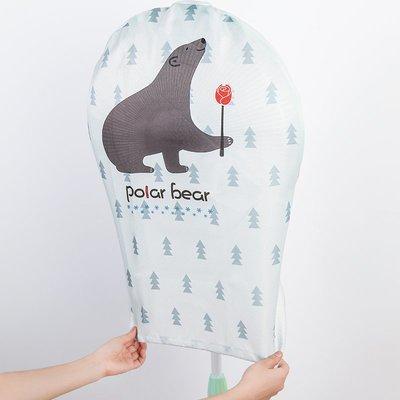 電風扇套子全包防塵罩家用落地圓形布藝電風扇保護套防夾手風扇罩