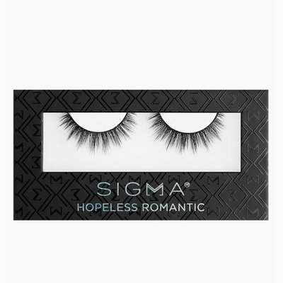 Sigma HOPELESS ROMANTIC FALSE LASHES 假睫毛【愛來客】美國Sigma官方授權經銷商