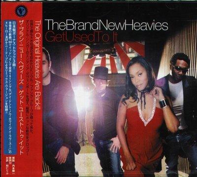K - The Brand New Heavies - Get Used To It - 日版 +3BONUS NEW
