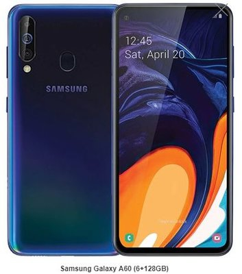 全新港行 Samsung Galaxy A60 (6+128GB)