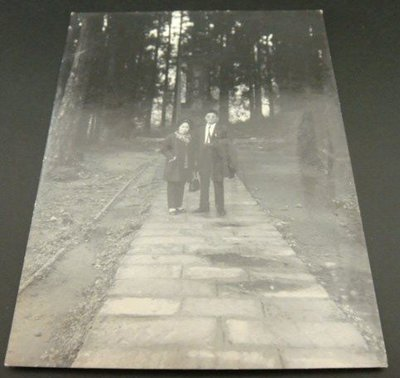 【早期老照片】民國60年代 阿里山 森林 6.5X9 公分