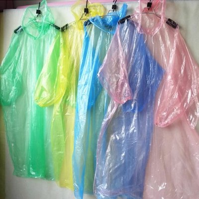 Color_me【J141】拋棄式輕便雨衣 成人 戶外 運動 旅遊 便攜 旅行 海邊 登山 薄款 男女 輕便雨衣 防雨水