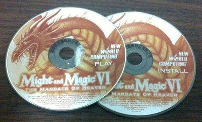 PC GAME_MIGHT AND MAGIC VI魔法門6--奉天承運THE MANDATE OF HEAVEN/2手