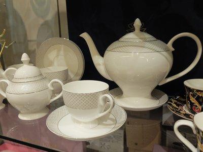 骨瓷杯 茶杯 咖啡杯 茶壺 英國骨瓷杯...