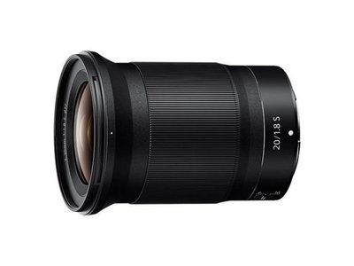 【華揚數位】☆全新 NIKON NIKKOR Z 20mm F1.8 S 定焦 大光圈鏡頭 平輸貨