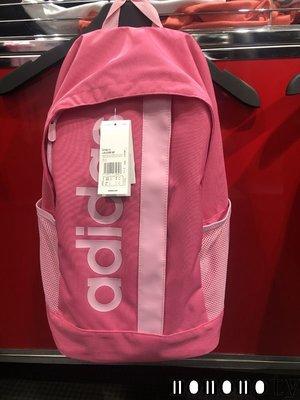 ADIDAS 愛迪達 粉紅 運動 背包 後背包 水壺袋 LOGO 書包 DT8619 請先詢問庫存