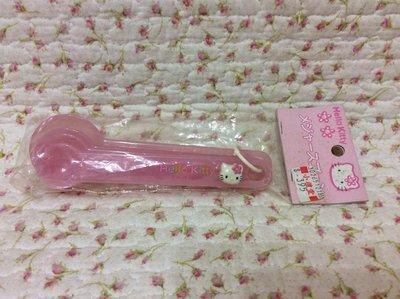 Sanrio hello kitty 花花版 調味匙《日本製.1998年商品》收藏特價出清