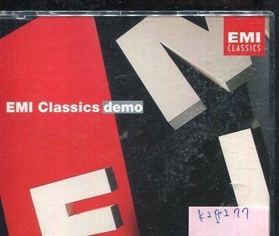 *真音樂* EMI CLASSICS DEMO 二手 K25277 台北市