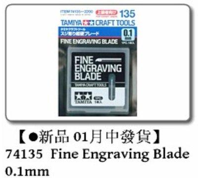 IDCF | Tamiya 74135 Fine Engraving Blade 0.1mm 工具材料