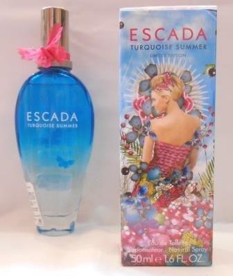 ~~~哈利的精品屋~~~ESCADA Turquoise Summer 綻藍香頌 (女香) -50ml 公司貨~~