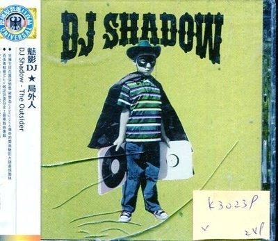 *真音樂* DJ SHADOW /  THE OUTSIDER 全新 K30239 (殼破)