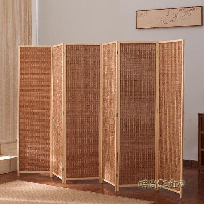 屏風隔斷折疊行動客廳簡約現代折屏簡易經濟小戶型飯店裝飾簾推拉MBS