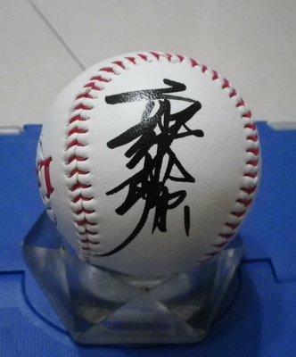 棒球天地---賣場唯一-- 東方特快車  郭泰源 簽名西武獅球.字跡漂亮