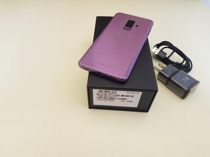 ☆誠信3C☆無傷 僅小烙印 三星 S9 plus 6+128GB 4G臉部辨識手機 功能正常 只賣14000