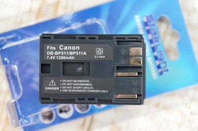 【中壢NOVA-水世界】CANON DB-BP511 BP-511A BP511A 副廠 鋰電池【1年保固直接換新】