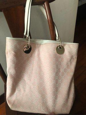 Gucci(古馳)粉紅色牛奶包