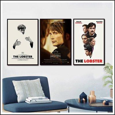 單身動物園 The Lobster 謊言的烙印 The Hunt 海報 藝術微噴 掛畫 嵌框畫 @Movie PoP ~