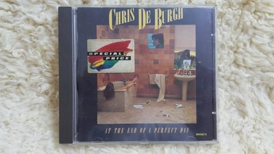 賣場罕見 絕版CHRIS DE BURGH  AT THE END OF A PERFECT DAY 精選輯 專輯CD