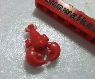 【積木1977】Lego樂高-動物-全新- 紅色龍蝦 Red Lobster (21310 / 71017)