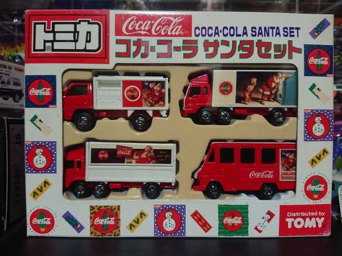 日版 Tomica Tomy 紅標 可口可樂貨車 套組  現貨 日本空運~小太陽日本精品