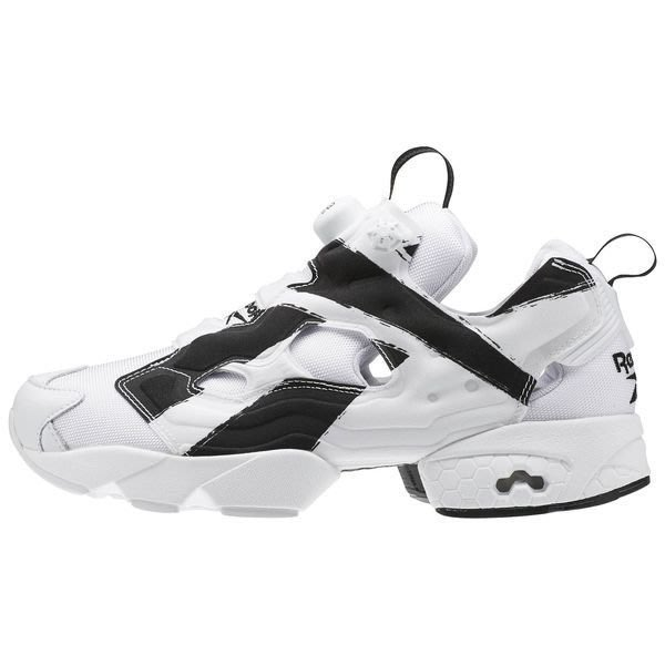 【西寧鹿】REEBOK INSTA PUMP FURY OVERBRANDED OB 白黑 男 運動鞋 REE002