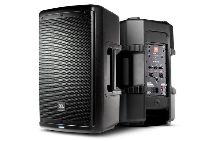 【昌明視聽】JBL EON 610 專業級舞台喇叭 一對2支喇叭 十吋雙向低音 主動式內建擴大機1000W(最大值)