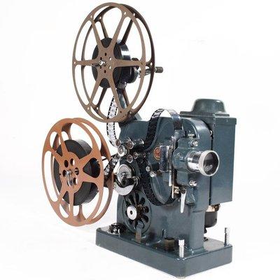 百寶軒 魔都洋貨瑞士古董早期BolexC型16毫米16mm老式電影機放映機雙齒 ZG3654