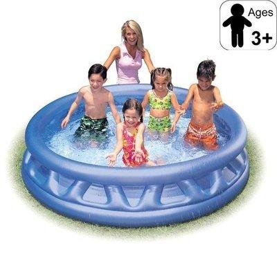 美國名牌INTEX Soft Side Pools 兒童游泳池 188*46公分,不含打氣筒;家庭泳池/充氣浴缸