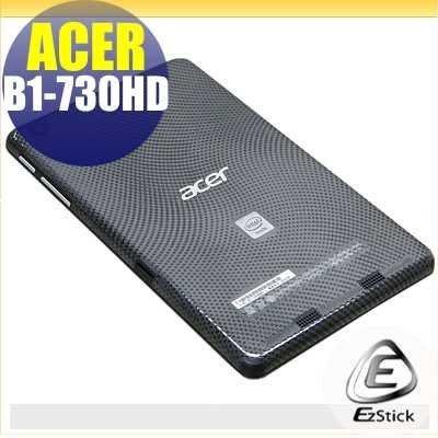 【EZstick】ACER Iconia One 7 B1-730HD 系列專用 二代透氣機身保護貼(平板機身背貼)DIY 包膜 台北市