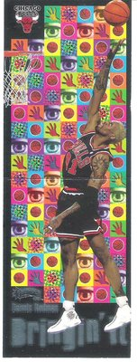 1998 Skybox Thunder Bringing It  DENNIS RODMAN  特殊卡