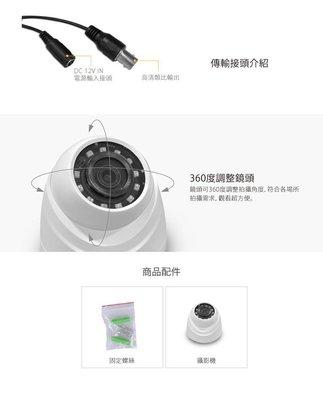 【皓翔】聲寶 VK-TW2100DWRN 2百萬 四合一 紅外線眼球型 攝影機