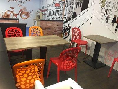 【鐵木創】塑合板  成品集  DLAMBAGGEL CAFE 桌椅  餐桌椅 實木桌 飯桌 辦公桌 電腦桌 書桌 休閒桌 台中市