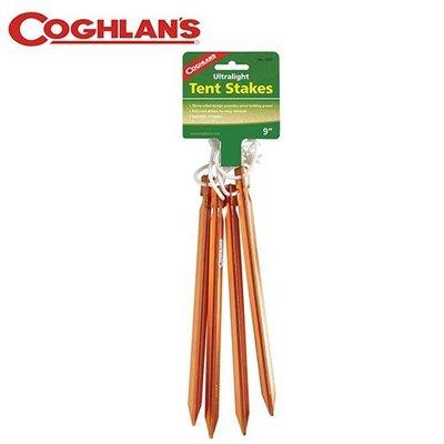 丹大戶外【Coghlans】加拿大 ULTRALIGHT TENT STAKES 超輕營釘 1000