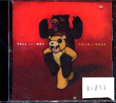*真音樂* FALL OUT BOY / FOLIE A 二手 K2872 (封面底破.CD有缺口不影響讀取)  (清倉.下標賣4)