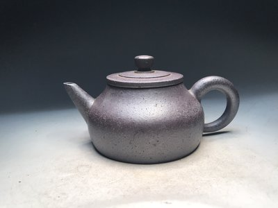 【壺口飯吃】A435 早期窯變小品壺  龍印 單孔 約170cc