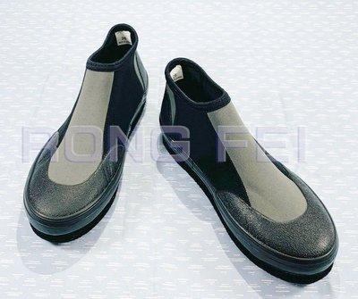 RongFei 短防滑鞋 台灣製造  釣魚鞋 溯溪鞋 磯釣鞋 毛氈鞋 潛水鞋 另售:雨衣 雨鞋 泳圈 面鏡