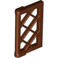 [香香小天使]LEGOR 60607 樂高Brown Window 1x2x3 Pane 6084571棕色 窗格 窗戶