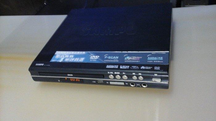 SAMPO聲寶DVD功能全部正常.無遙控器.播放功能全部正常可接音圓.金嗓.美華.點將家.做動畵背景
