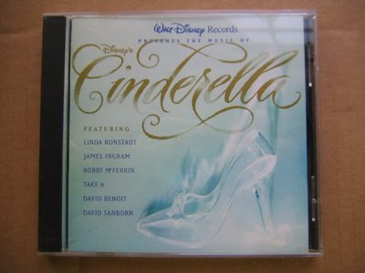Cinderella (Walt Disney) CD (Linda Ronstadt, James Ingram, Bobby McFerrin)