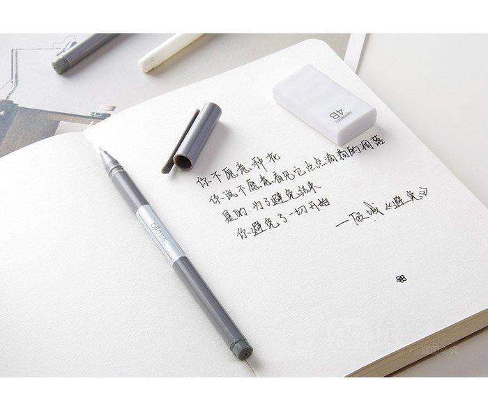創意簡約中性筆 辦公文具0.5mm針管簽字筆 練字筆黑色水筆