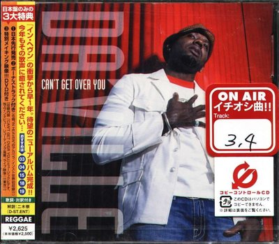 K - Da'ville - Can't Get Over You - 日版 CD+DVD+2BONUS - NEW
