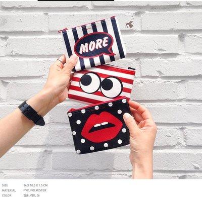 【限時特惠】Marianne Kate 塗鴉系列 多用收納包 萬用包 小物包 (S) 三色